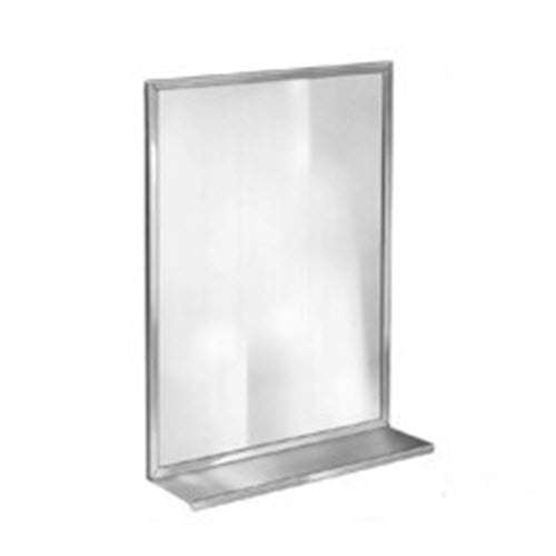Bradley 7815-048360 48 x 36 Channel Frame Mirror - Division 10 Direct
