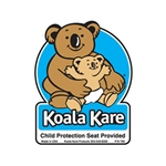 Koala Kare 795 Restroom Door Label for KB102 Child Safety Seat