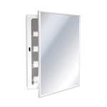 ASI 8340 Surface Mounted Medicine Cabinet with Mirror and Shelves