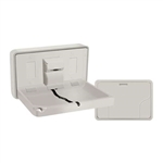 ASI 9014 Horizontal Plastic Baby Changing Station image