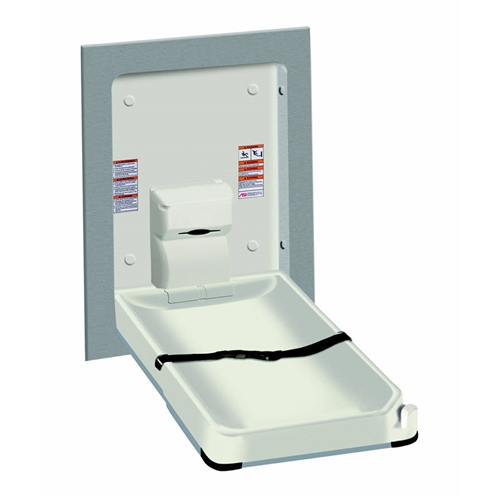 asi 9017 baby changing station image - Baby Changing Station