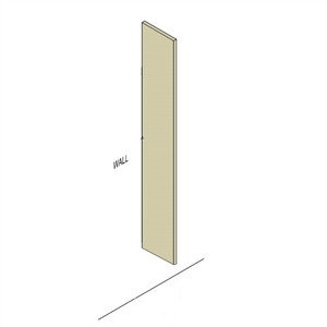 Metal Partition Pilaster Image