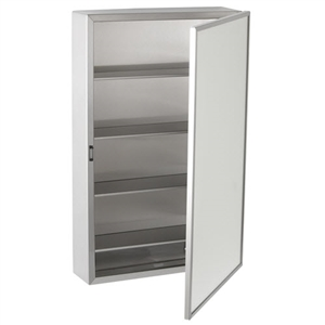 Bobrick B 299 Surface Mount Medicine Cabinet With Mirror