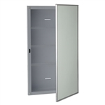 Bobrick B-397 Recessed Medicine Cabinet with Mirror and Shelves