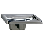 Bobrick B-6807 Surface Mount Soap Dish with Drain Holes