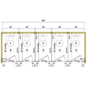 Stainless Steel Toilet Partitions Division 10 Direct