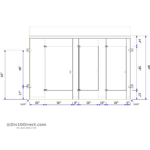 Phenolic Toilet Partitions Division Direct - Ada bathroom partitions