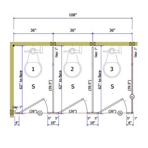 Plastic Laminate Toilet Partitions Division Direct - Plastic laminate bathroom partitions