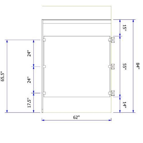 Solid Plastic Toilet Partitions Division Direct - Plastic bathroom partitions