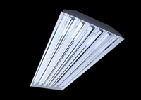 TechBrite 4-Light T8 Fluorescent High Bay Fixture