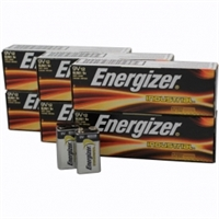 Energizer Industrial 9V Alkaline Batteries - 72 Pack
