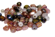 10gm luster beadmix assortment pink