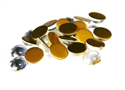 12pc clear crystal glass cabochons 8mm