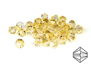 10pc precoscia crystal bicones blonde 4mm