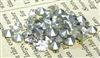 30pc glass rhinestone cone clear crystal 3mm