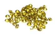 60pc 2 mm rhinestone point back crystals light topaz