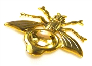 1pc gold plated setting bee