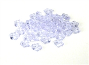 50pc 5mm czech glass flower rondelles alexandrite purple