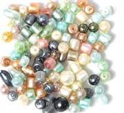 50pc 4mm Assorted Pearls Mix