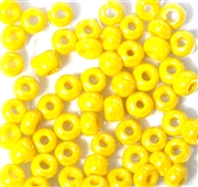 10gm 1/0 Seed Beads Yellow Lustre