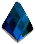1pc bermuda blue glass pendant