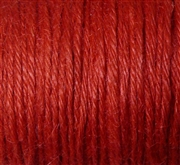 10m Hemp 2mm Red