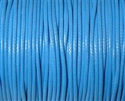 6m 2mm Cotton Knotting Cord Bright Blue