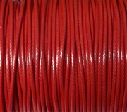 6m 2mm Cotton Knotting Cord Red