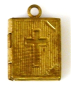 1pc locket brass buble small 10x15mm