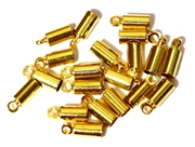 20PC Cord End antique Gold 4mm Plain