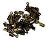 50PC Thonging End Antique Brass 4mm