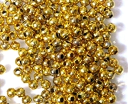 10GM Antique Gold 3mm Spacer Round