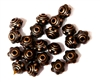 20PC Antique Copper 8mm Dotted Saturn Bead