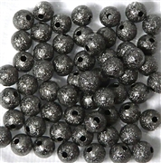25PC Antique Nickel Stardust Rounds 6mm