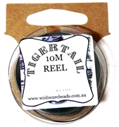 10m Tigertail Reel Black
