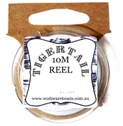 10m Tigertail Reel White