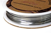 3m 20 Gauge thickness Brass Wire Silver