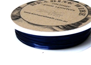 14m 26 Gauge thickness Brass Wire Blue