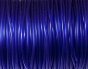 5m 2mm rubber tubing Hollow Dark Blue