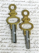 2pc watch keys gold top