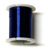 10m reel blue 28 gauge wire