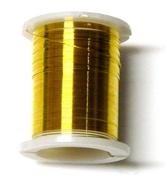 10m reel yellow 28 gauge wire