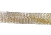 1m 12mm wirelace tubular mesh gold light