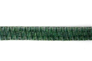 1m 6mm wirelace tubular mesh emerald green