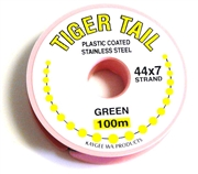 100m 44x7 strand tigertail green