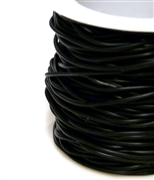 50m 1mm rubber solid black