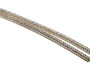 Wiggle Coil Wire 2mm Silver Plated 2 x 19cm lengths