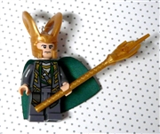 Superhero Pendant Loki x 1PC