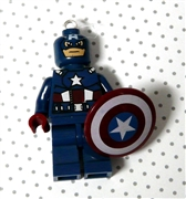 Superhero Pendant Captain America x 1PC