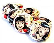 2pc comic bead discs